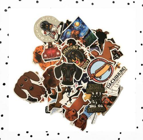 teckel stickers