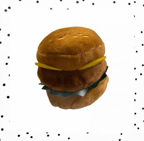 teckel speeltje hamburger