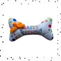 hondenspeeltje happy birthday